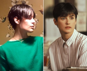Tallulah Willis Gets Demi Moore's 90s Haircut