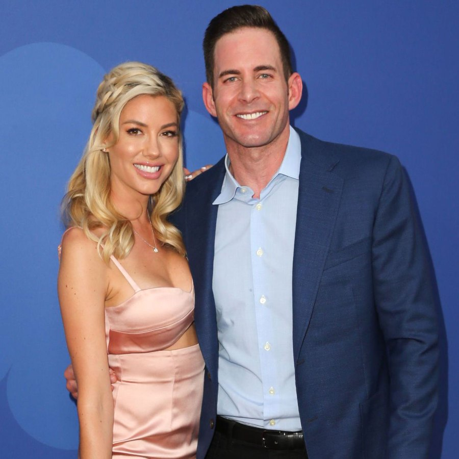 Tarek El Moussa and Heather Rae Young Wear Matching Pajamas in Holiday Photo With Kids