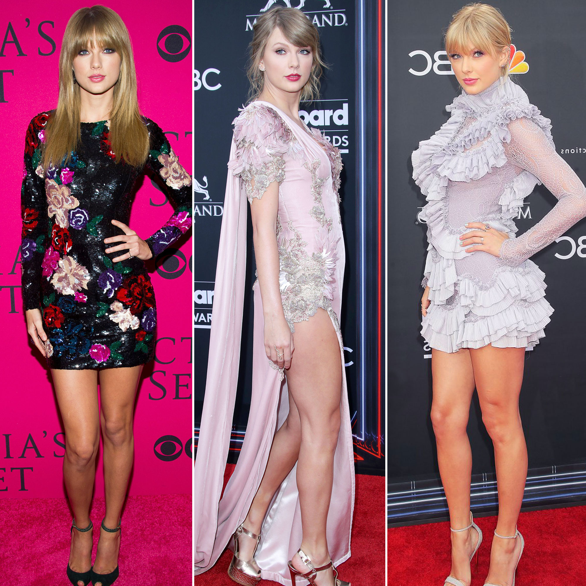 Taylor Swift S Red Carpet Style Evolution