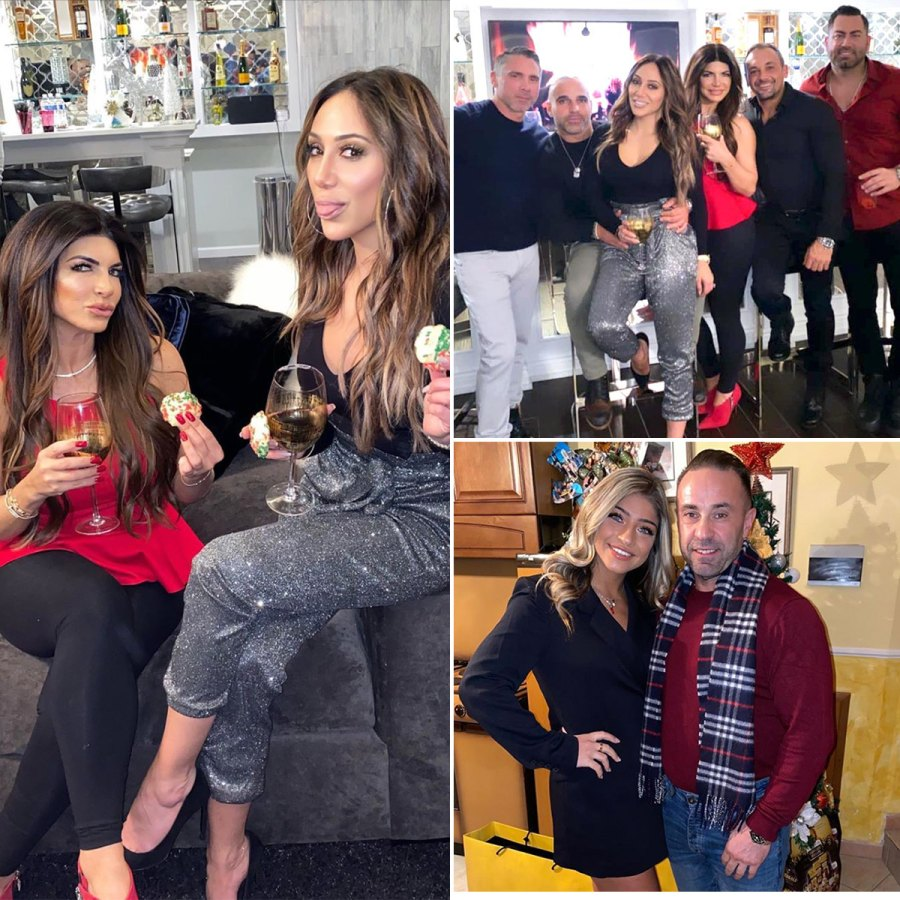 Teresa Giudice Celebrated Christmas With Family and 'Pool Boy' While Daughters Went to Italy With Joe Giudice