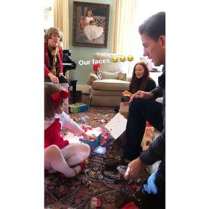 Thomas Ravenel Kathryn Dennis Join Kids for Christmas