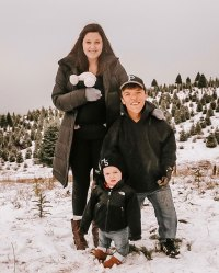 Tori Roloff and Zach Roloff Celebrity Kids Helping Pick and Decorate Christmas Trees