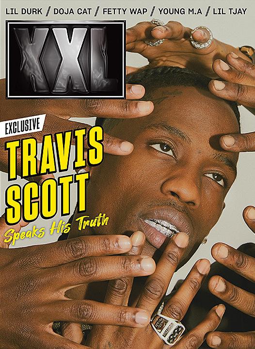 Travis-Cover XXL Magazine