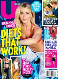 Us Weekly Cover Issue 0220 Julianne Hough Diets That Work