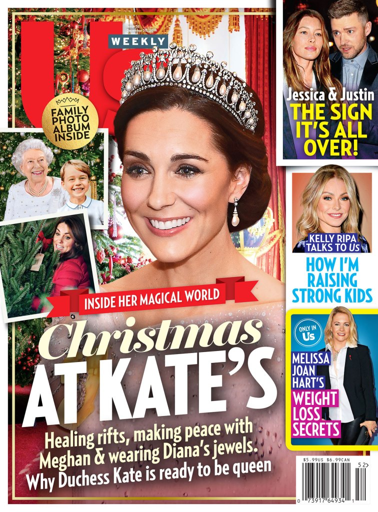 Us Weekly Cover Issue 5219 Christmas at Duchess Kates Duchess Kate's Christmas Plans