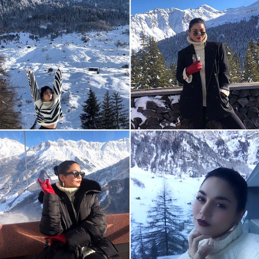 Vanessa Hudgens Swiss Getaway Is Vacation Goals