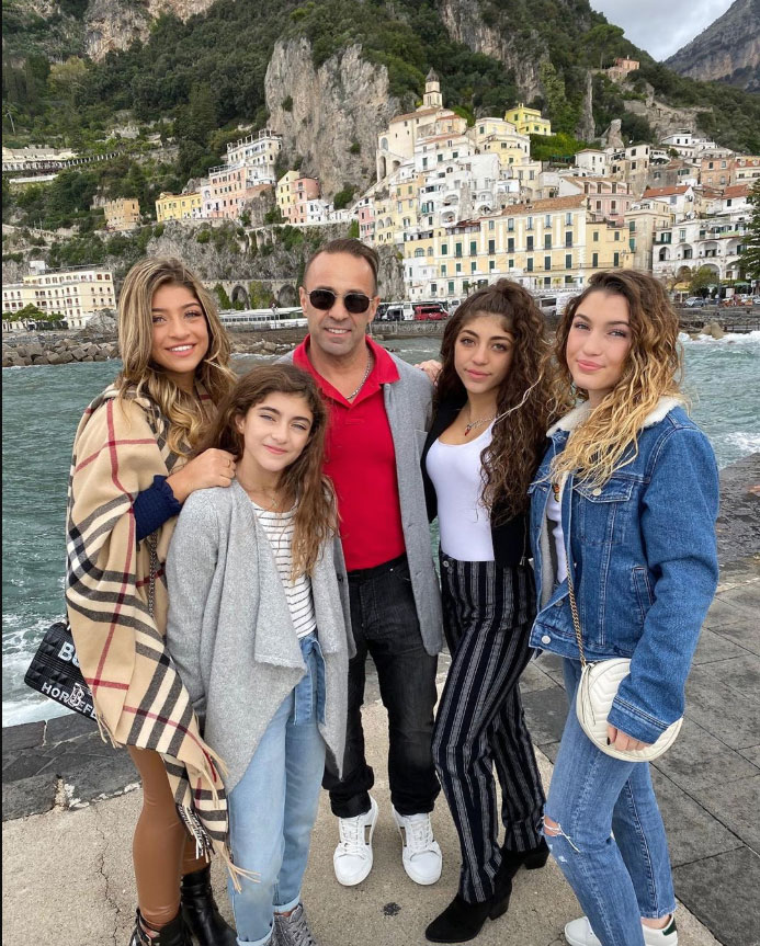 Watch Joe Giudice Reunite With 'Happy' Daughters in Italy For Christmas