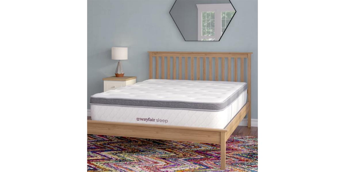 """Wayfair Sleep 13"""" Plush Pillow Top Mattress"""