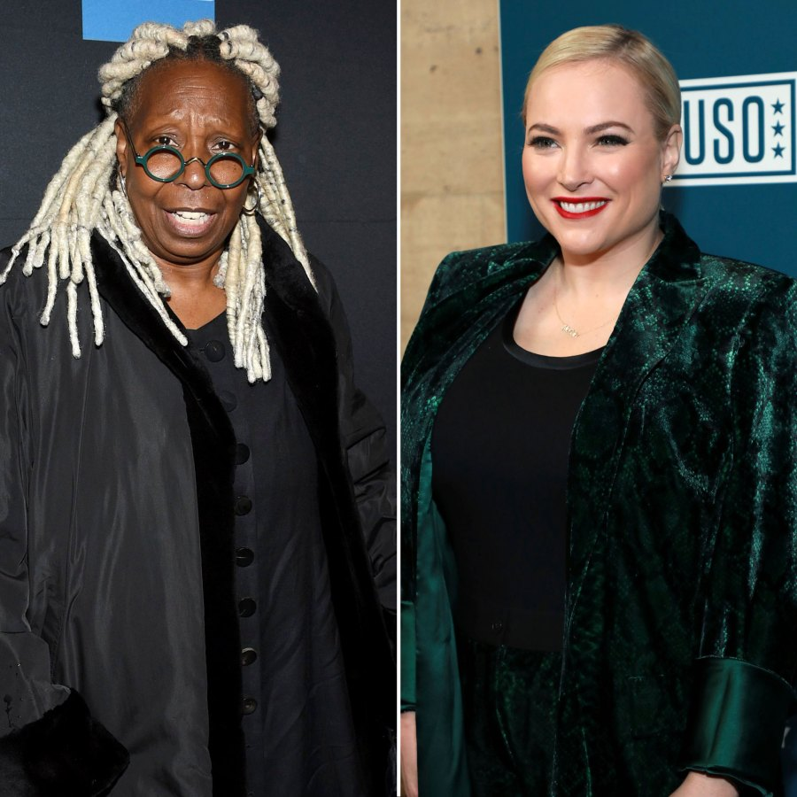 Whoopi Goldberg Tells View Cohost Meghan McCain to Stop Talking