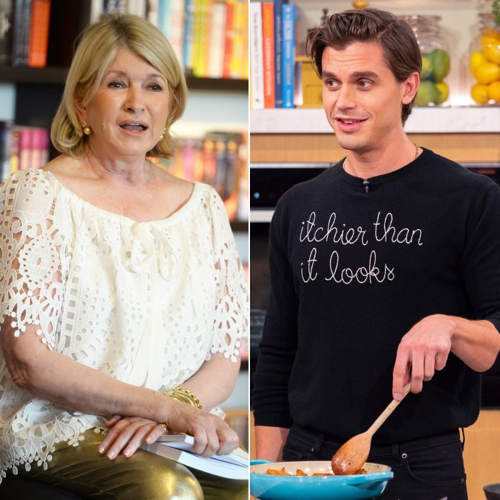 Why Martha Stewart Is Upset With Antoni Porowski's Instagram