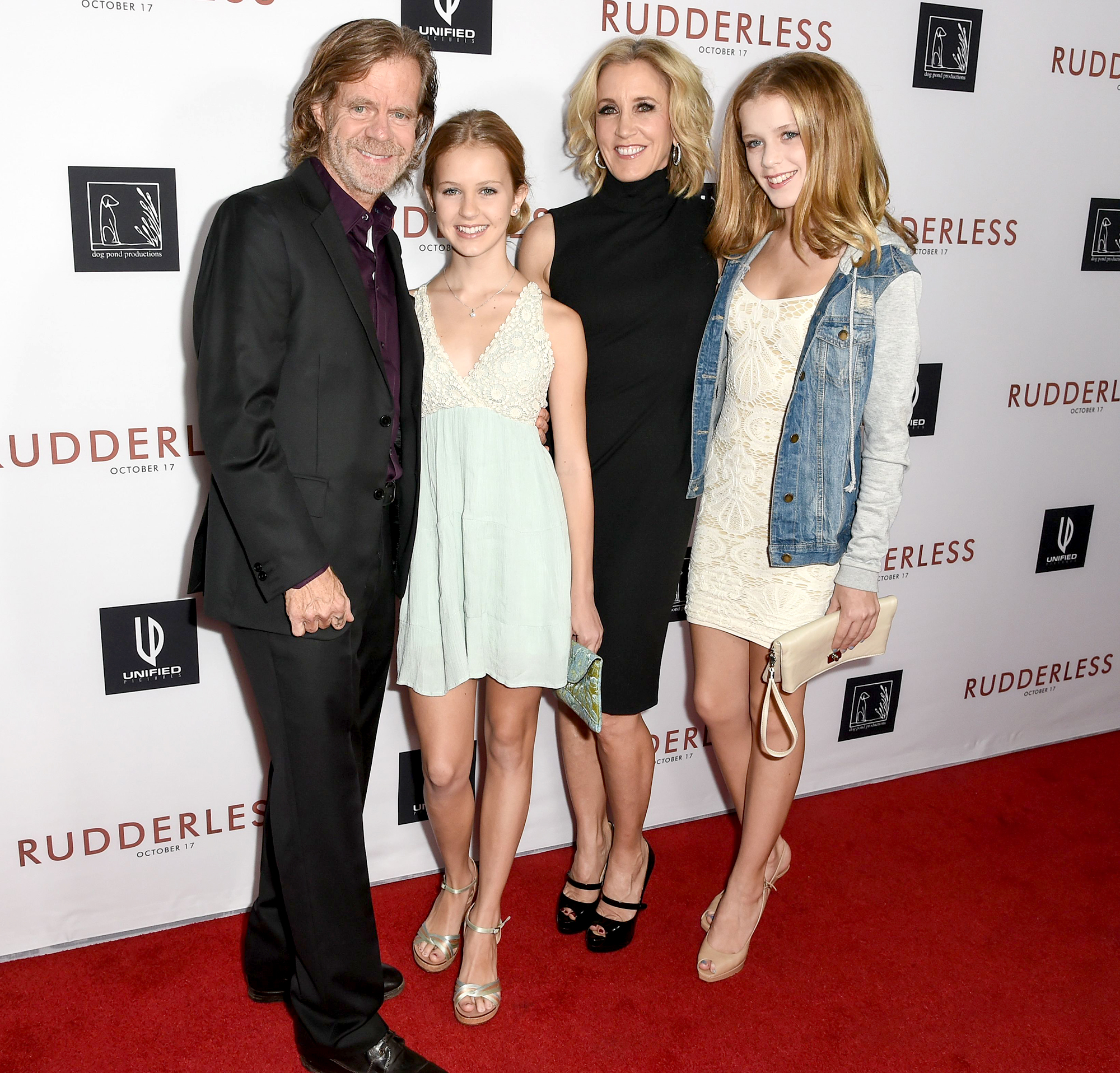 William-H.-Macy-and-Felicity-Huffman-with-daughters-Sophia-Grace-and-Georgia-Grace-Macy
