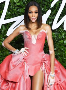 Winnie Harlow Spilled Her Secret for Always Staying Comfortable (Even When She's Rocking Super Glam Looks)