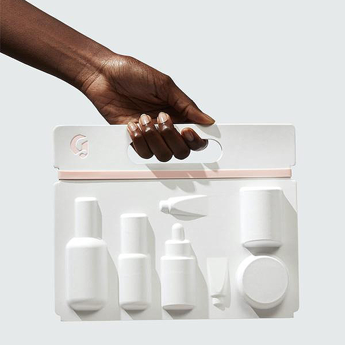 The Skincare Edit carrying case