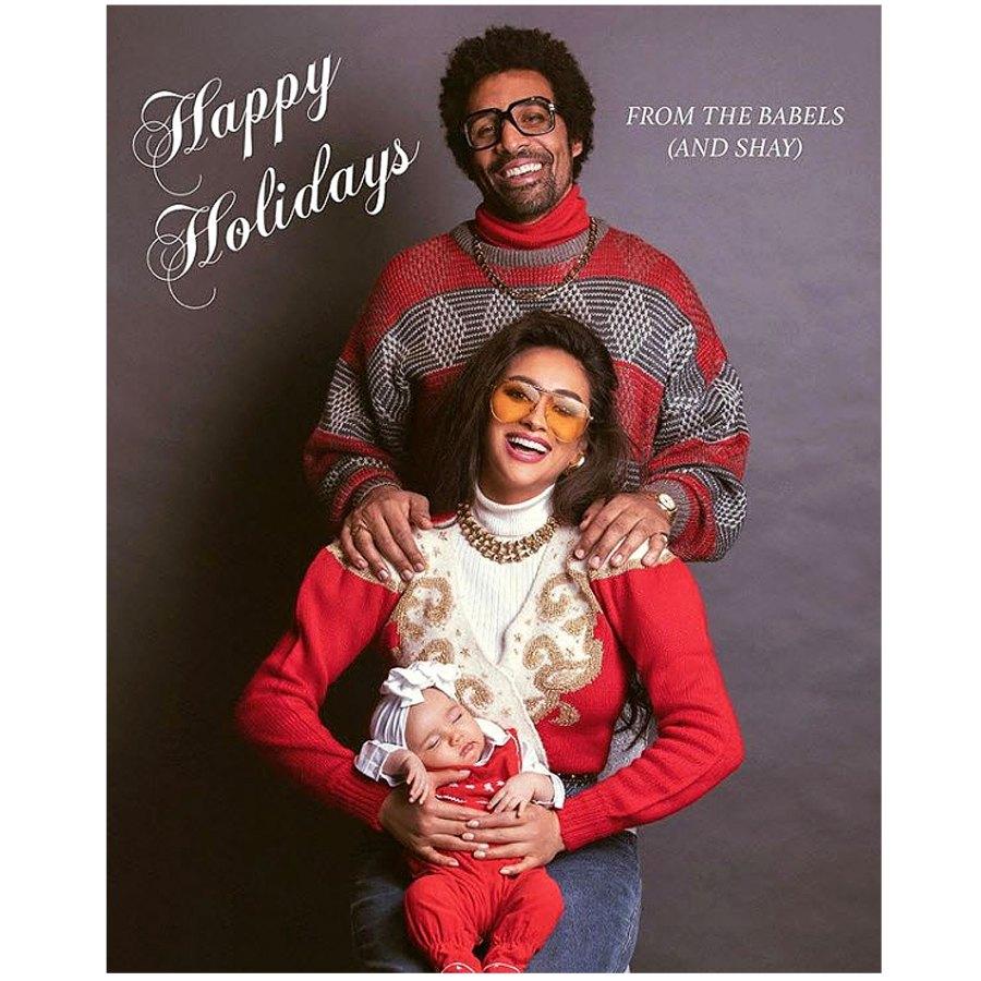 Celeb Holiday Cards 2019