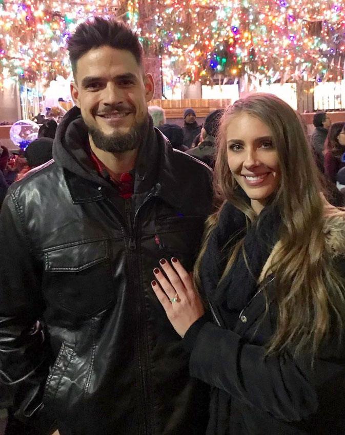 celebrity engagements Zach Nichols and Jenna Compono