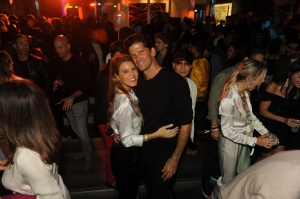 Claire Holt, Dwyane Wade, More Attend Wayne and Cynthia Boich's Art Basel Party in Miami