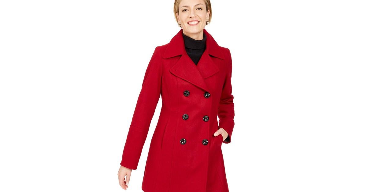 classic coat - آن كلاين بيكوات كلاسيكية وجميلة (زائد 40 ٪ من في ميسي!)