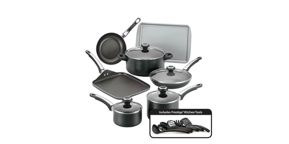 Farberware High-Performance Nonstick 17-Piece Cookware Set