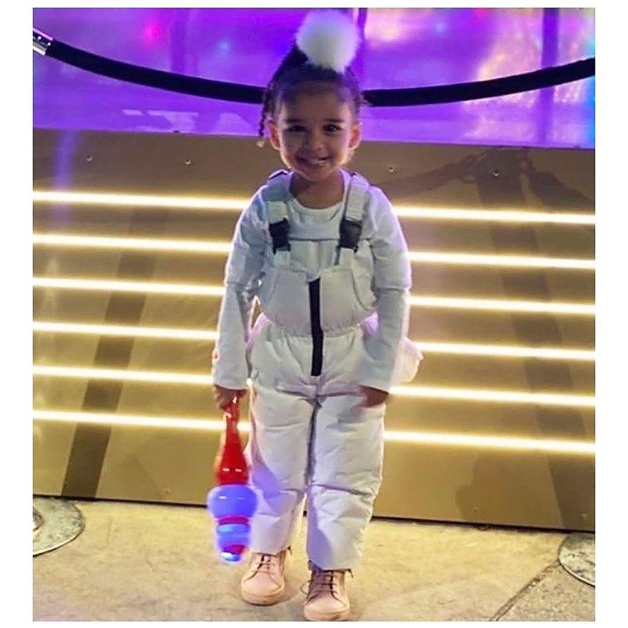 Dream Kardashian White on White