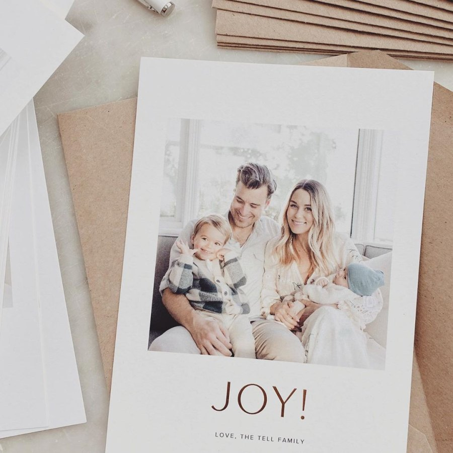 Lauren Conrad Christmas Cards of 2019