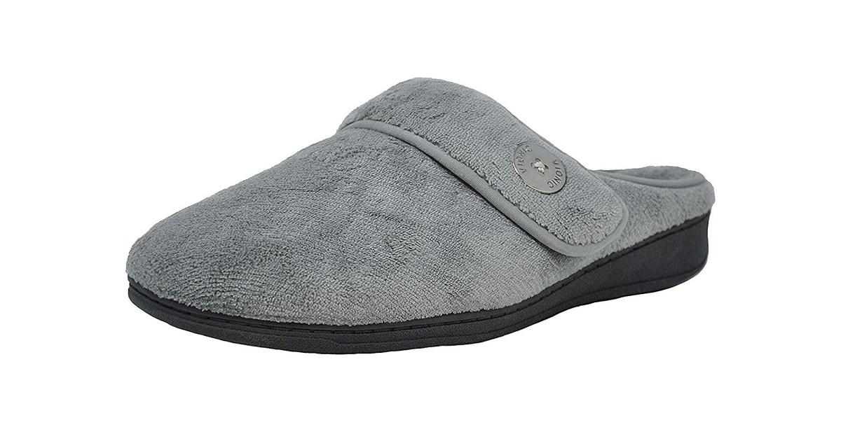 vionic slippers grey - هذه النعال فيوني سادي البغل لينة جدا وداعمة