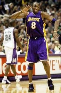Kobe Bryant Playing for the Lakers in 2003 Kobe Bryants Life in Pictures
