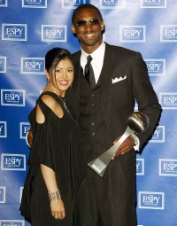 Kobe Bryant and Wife Vanessa at the ESPY Awards in 2002 Kobe Bryants Life in Pictures
