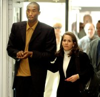 Kobe Bryant Arriving to Court in 2003 Kobe Bryants Life in Pictures