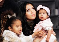 Vanessa Bryant with Daughters Natalia and Gianna in 2006 Kobe Bryants Life in Pictures