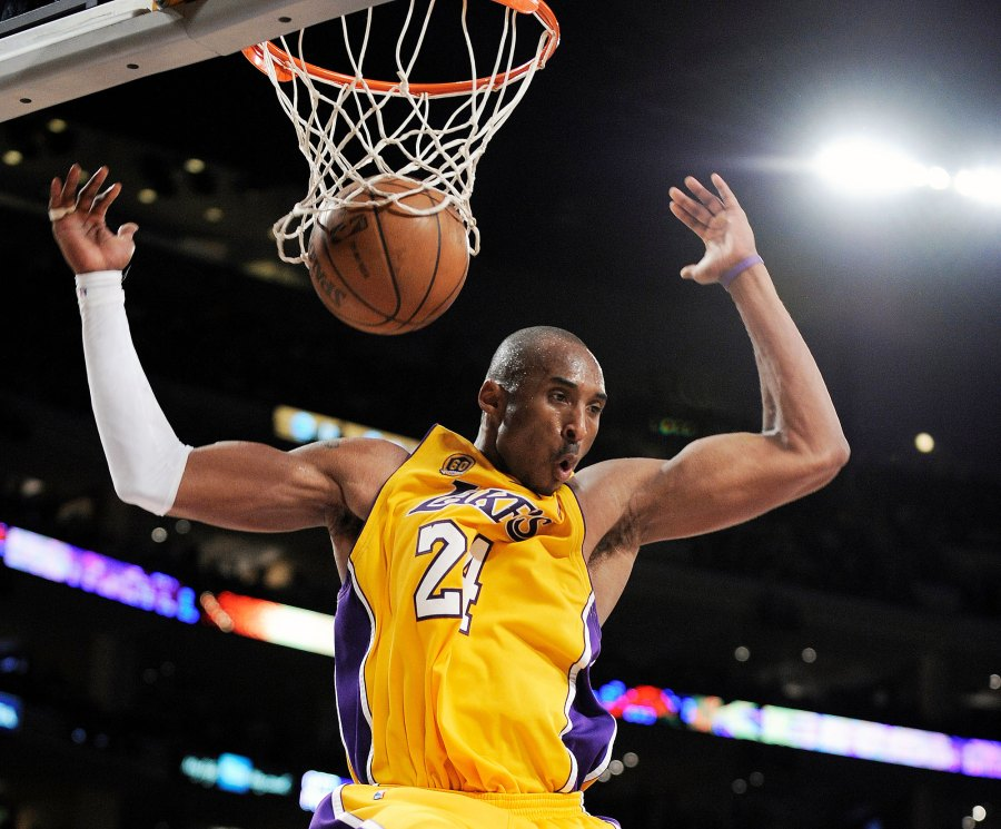 Kobe Bryant Playing for the Lakers in 2008 Kobe Bryants Life in Pictures