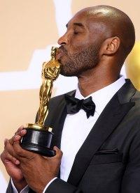 Kobe Bryant at Oscars 2018 Kobe Bryants Life in Pictures