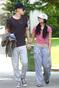 1 September 2011 Vanessa Hudgens and Austin Butler