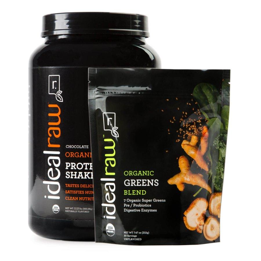 IdealRaw Organic Greens Smoothie Kit