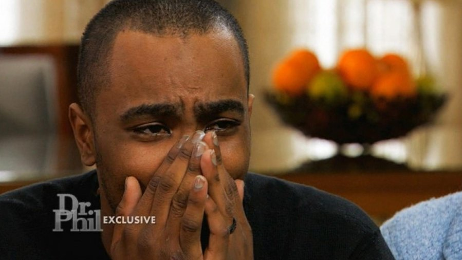 2015---Nick-Gordon cries-over-Bobbi-Kristina-during-Dr.-Phil-interview,-goes-to-rehab