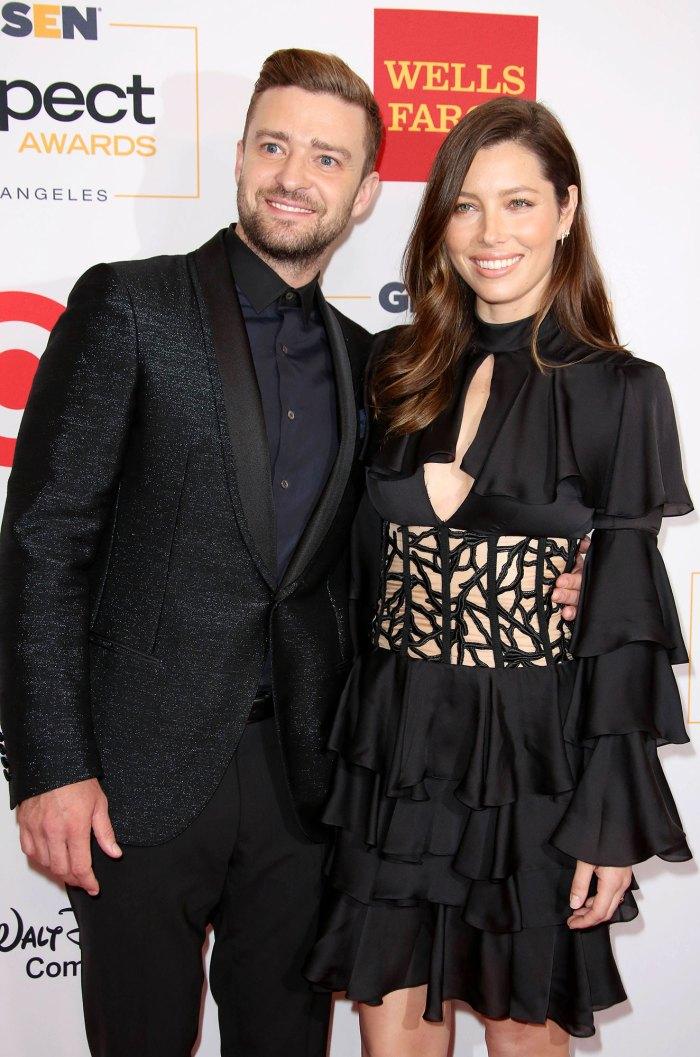 2015 Son Silas Born Justin Timberlake Through the Years