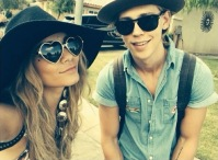 9 August 2014 Vanessa Hudgens and Austin Butler