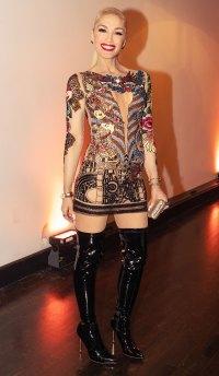 Gwen Stefani Tattoo Dress January 23, 2020
