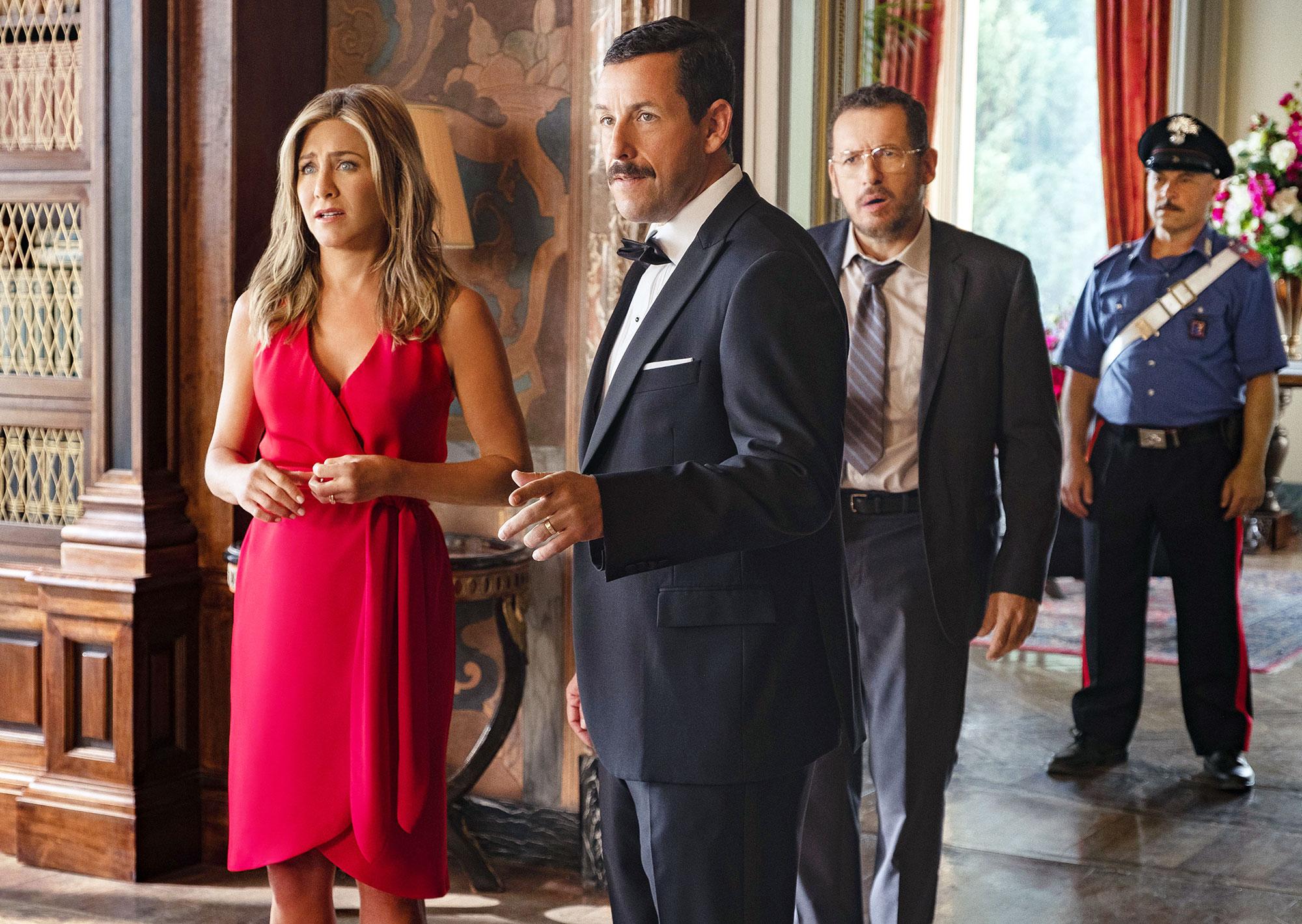 Adam Sandler Talks Jennifer Aniston Friendship, 'Murder Mystery' Sequel