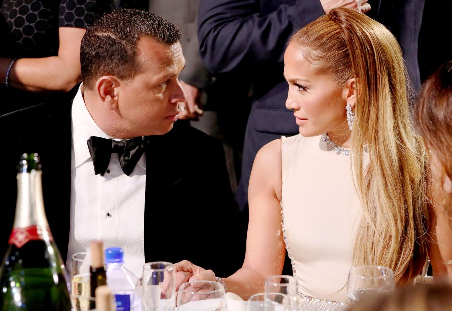Alex Rodriguez and Jennifer Lopez What You didn't See On TV at the Critics Choice Awards 2020