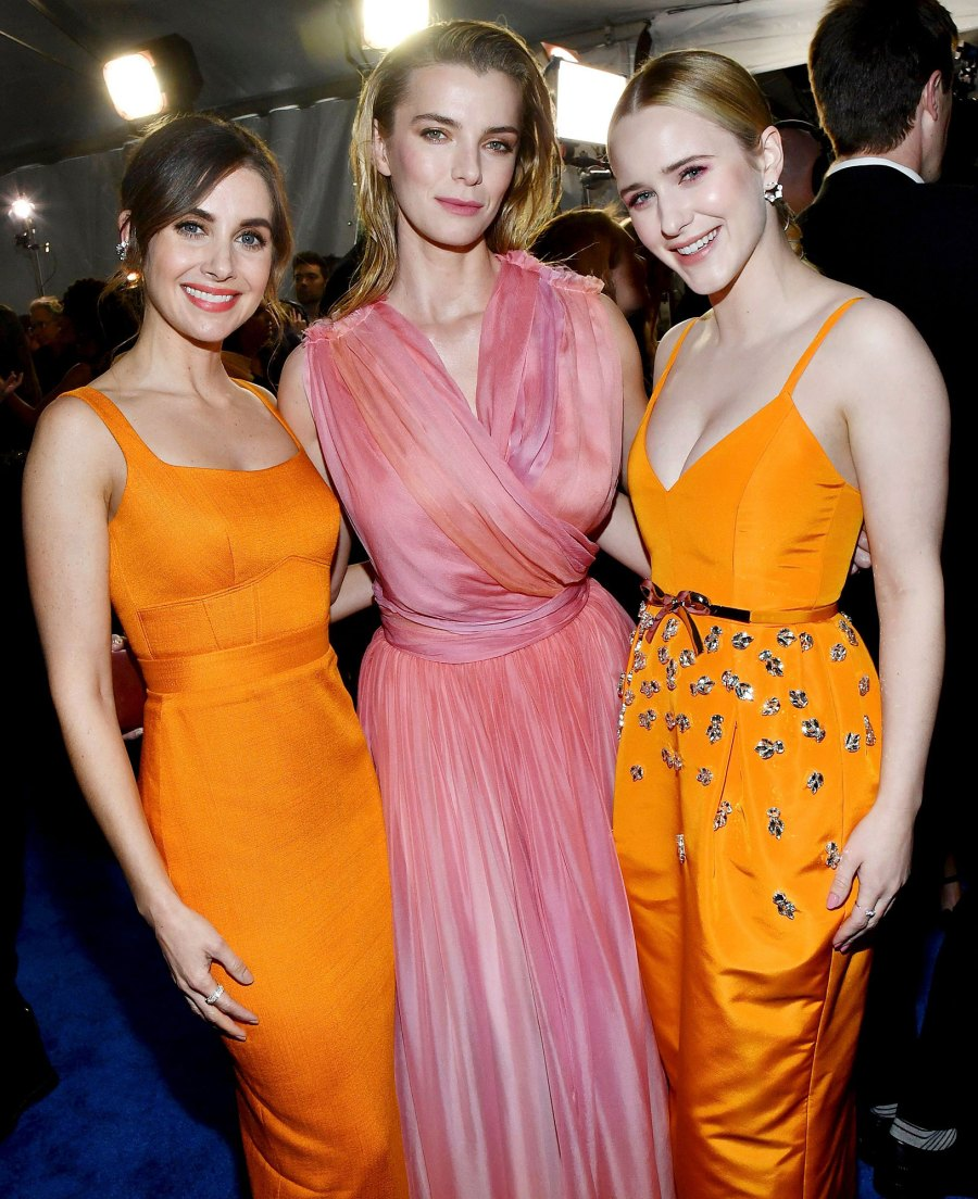 Alison Brie Betty Gilpin and Rachel Brosnahan Inside the Critics Choice Awards 2020