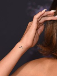 All of Selena Gomez's Tattoos - Music note