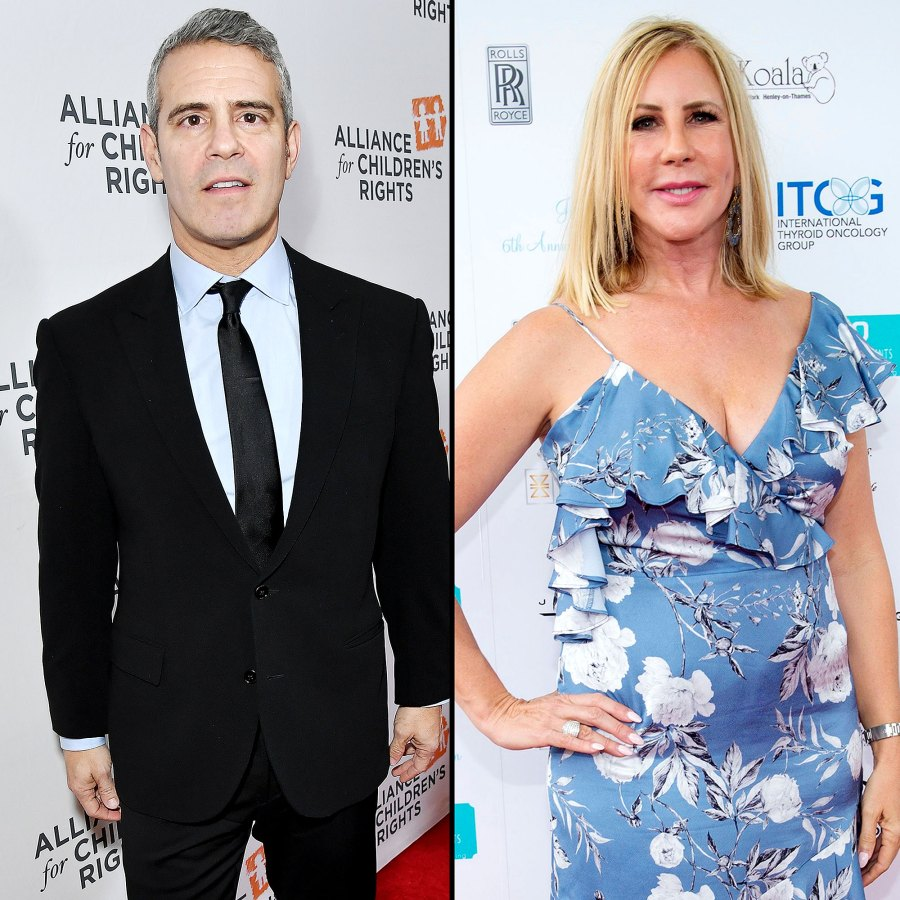 Andy Gives Update His Relationship With Vicki Gunvalson After RHOC Exit