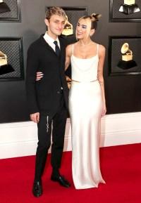 Anwar Hadid and Dua Lipa Grammys 2020