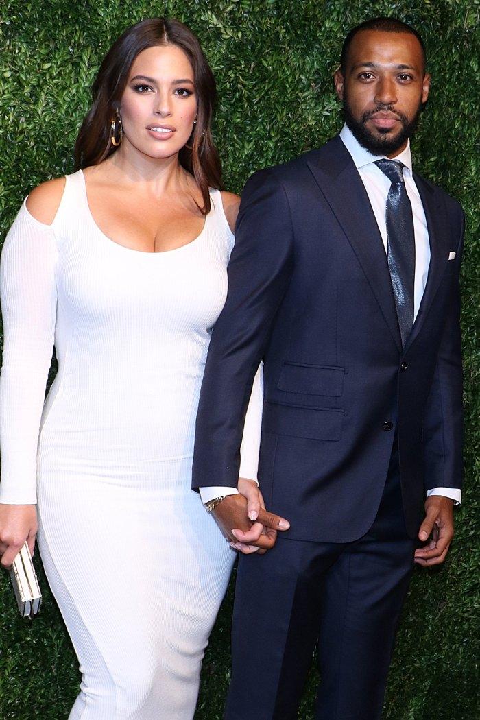 Ashley Graham Gives Birth, Welcomes 1st Child With Husband Justin Ervin