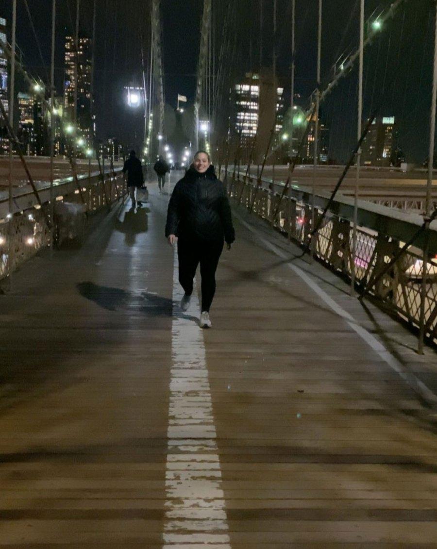 Ashley Graham Power Walking