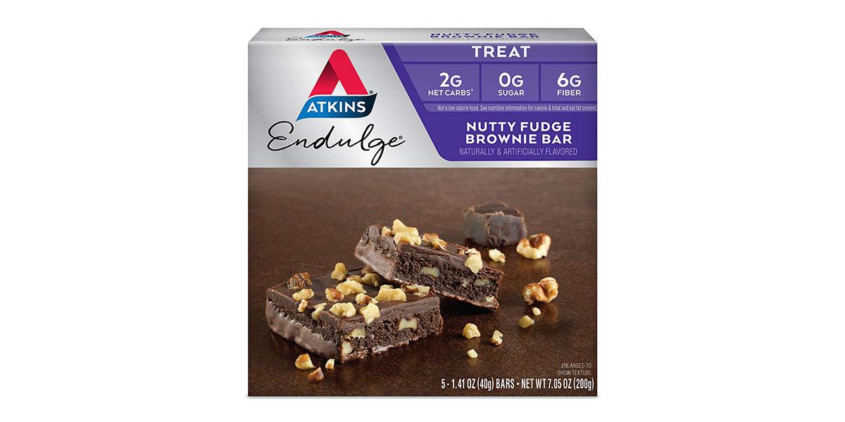 Atkins Endulge Treat, Nutty Fudge Brownie Bar