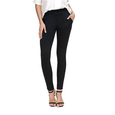 Bamans Women's Skinny Slim Stretch Yoga Dress Pants