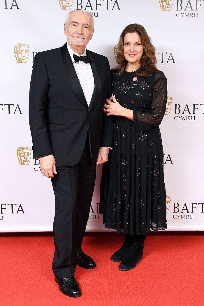 Barbara Broccoli and Michael G Wilson British Academy Cymru Awards James Bond
