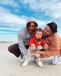 Bekah Martinez Celebrates Halfway Point of Pregnancy With Family Photos