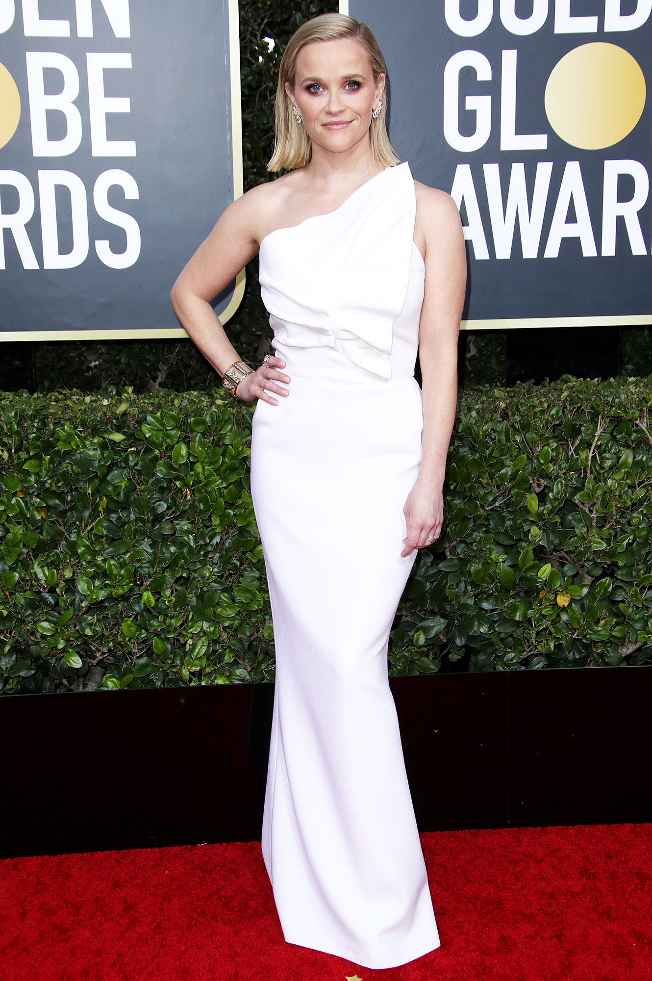 Best Dressed of the Night Reese Witherspoon Golden Globes 2020